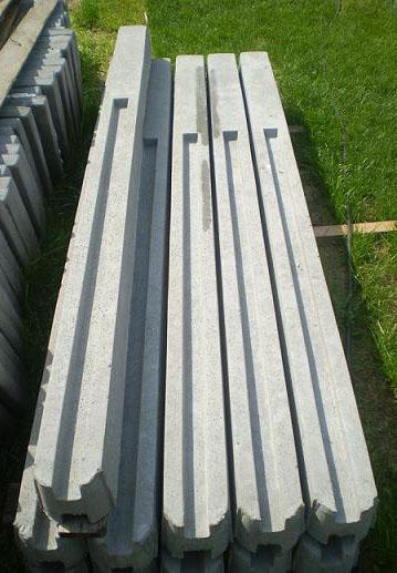 Столбы указательные бетонные, железобетон, ЖБИ, ЖБК