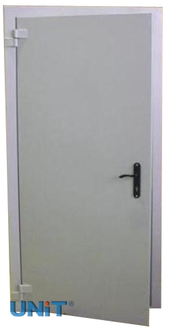 Двери утеплённые металлические