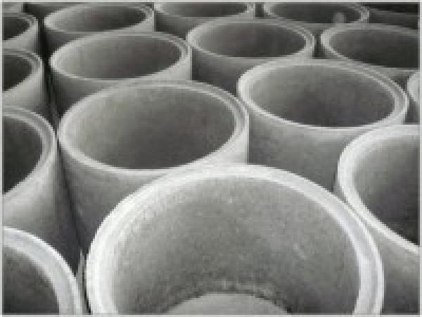 Кольца стеновые цилиндрические фальцевые железобетонные, ЖБИ, ЖБК