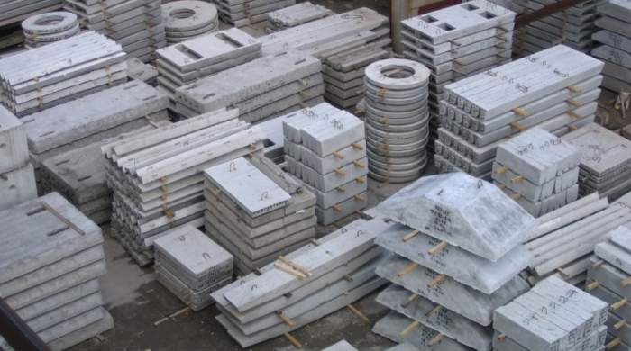 Камень бетонный стеновой железобетонный, ЖБИ, ЖБК