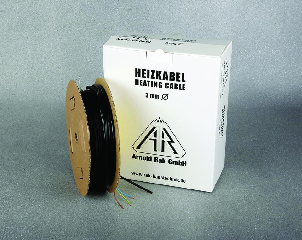 Кабель двужильный нагревательный  A.Rak SIPC 6105-30