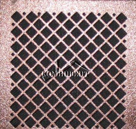 Решетки вентиляционные - прямоугольные  для организации вытяжной вентиляции в помещениях