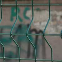 Buy 3D fence: section 1.5x2m Ø5mm, galvanized with a polymer coating fence from wire panels TM Cossack