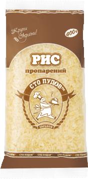 Рис пропаренный 400г