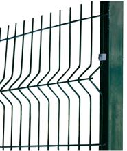 Купить Забор ТМ Казачка секционный оцинкованный с полимерным покрытием, секция: 1,8х2,5 м