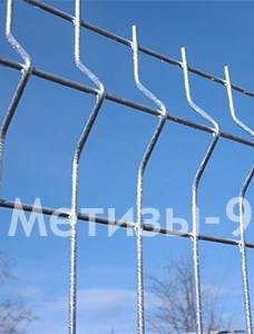 Buy 3D fence: section 1,5x2m, Ø5mm, hot-dip galvanized 320g / sq.m ТМ Cossack, fence from wire panels