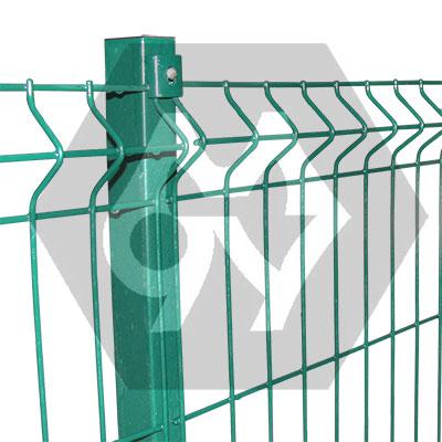 Сварной секционный забор ТМ Казачка. Размер секции 2,0х2,5 м, диам. проволоки 4,0 мм