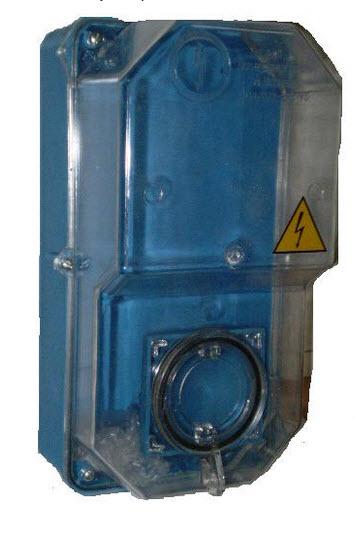 Электрощит : КДЕ-2 Бокс для 1-ф электронного счетчика IP54 (61411)