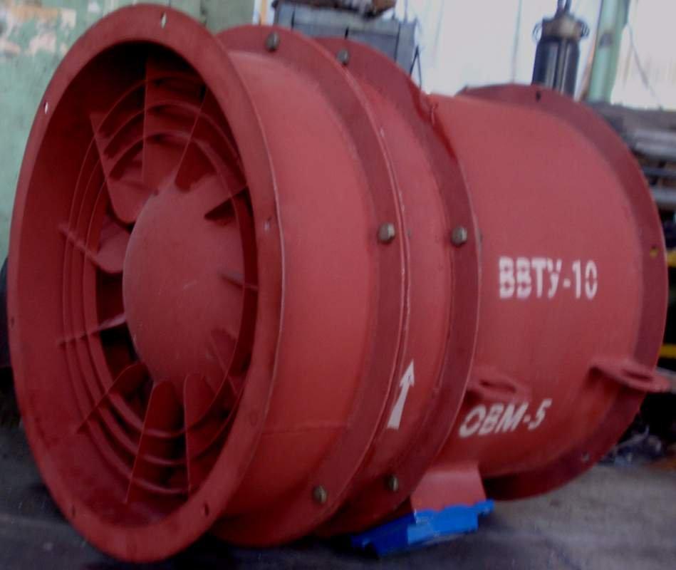 Система вентиляции зерна ВТУ-10