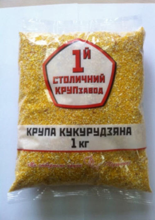 Купить Крупа кукурузная фасованная оптом