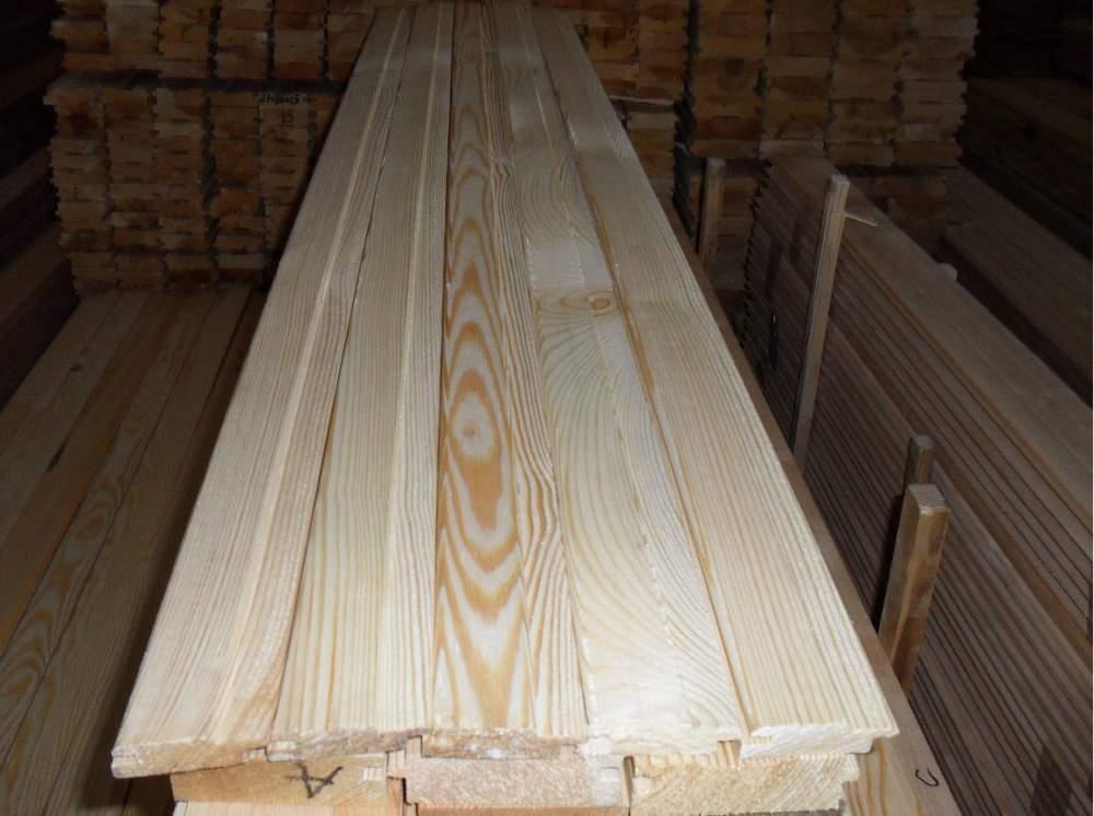 ЕвроВагонка деревянная Ель