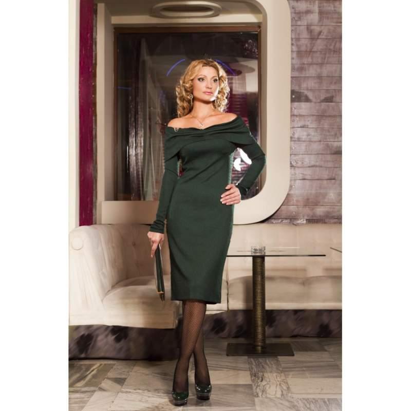 Затишне плаття з відкритими плечима 9010 купити в Одеса 57a5996e13fc5
