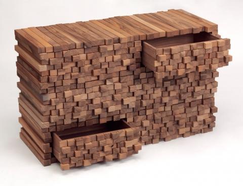 Комоды ручной работы из дерева фото
