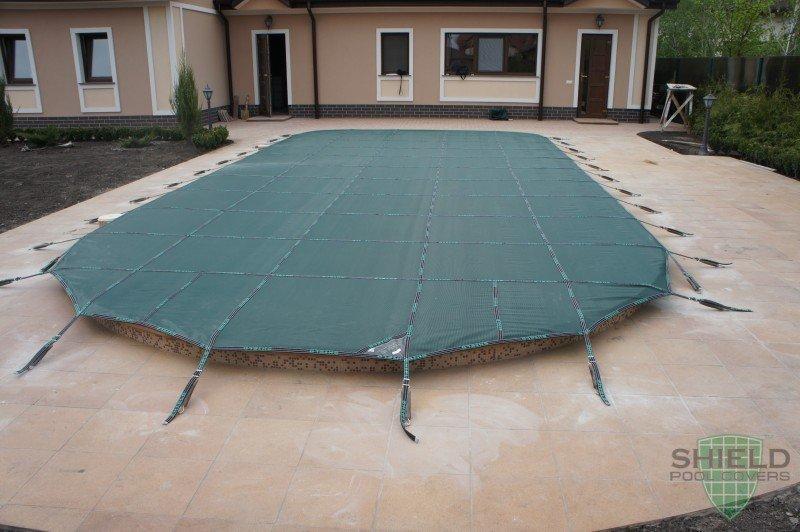 Защитное накрытие Shield для бетонного бассейна