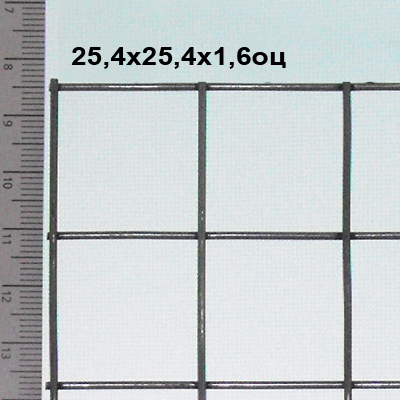 Buy Grid welded zinced 25,4*25,4*1,6 mm (zinc to 50 g/m2) For production of grids for rabbits