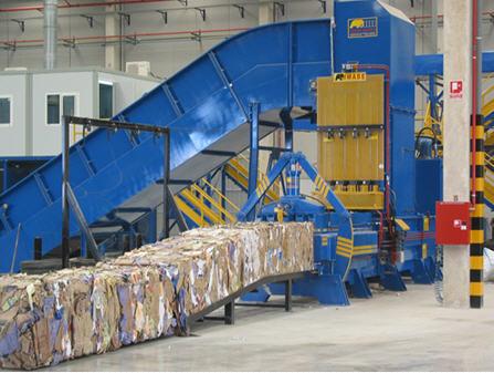 Оборудование прессование макулатуры макулатура казань цены и металлолом