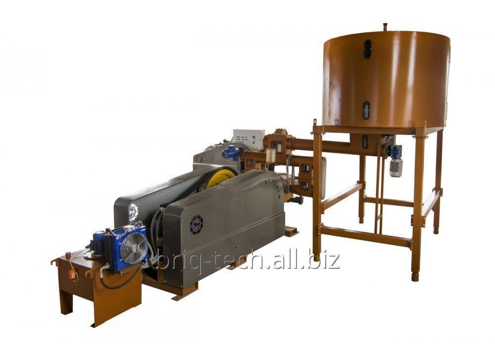 Брикетирующий пресс ударно механический ПБУ-080-900 для прессования отходов древесины