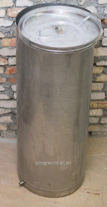 Емкость для вина с плавающей пневматической крышкой на 220л.