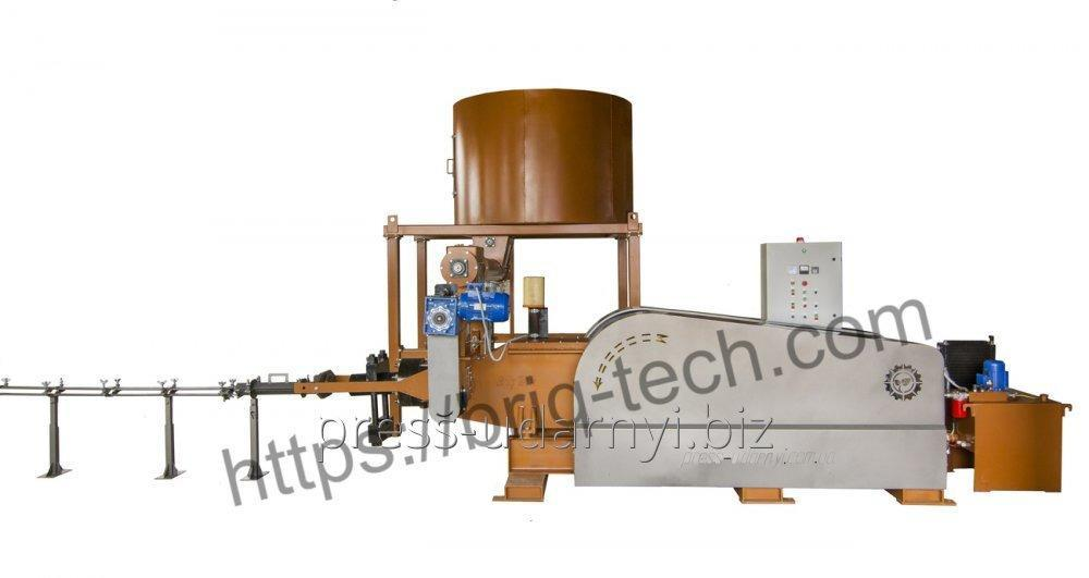 Ударно-механический пресс для топливных брикетов ПБУ-080-900 М
