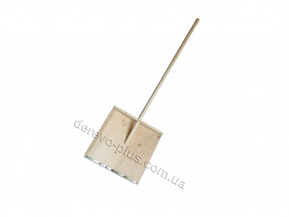 Лопата снегоуборочная деревянная