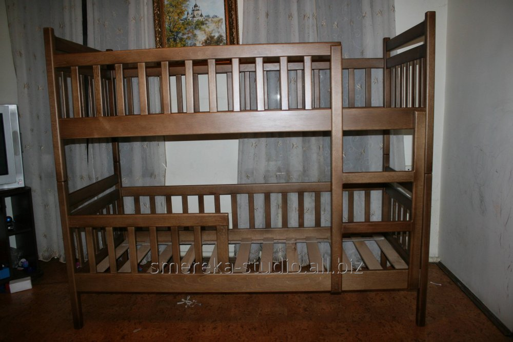 Transforming Bed Tom And Jeri Beech Bunk Beds Buy In Lvov