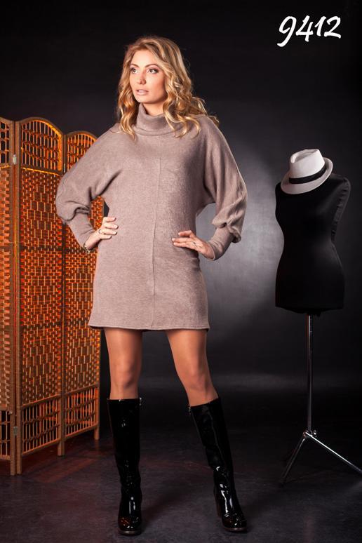 9412-тепле трикотажне плаття з ангори купити в Одеса 24c9ae8a3e3ef