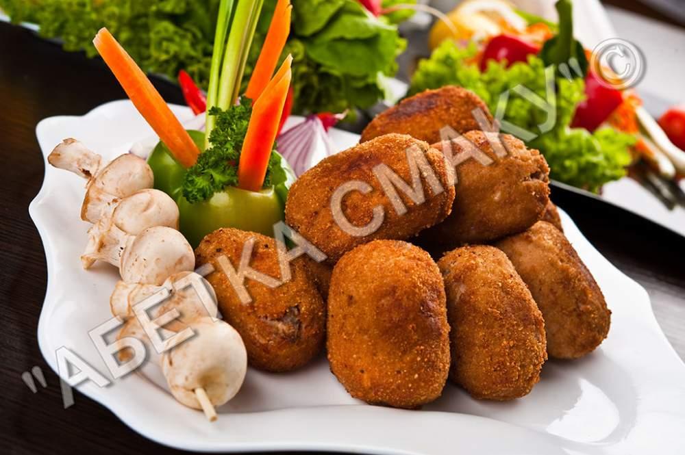 Купить Зразы с грибами, Картофельные зразы с грибами