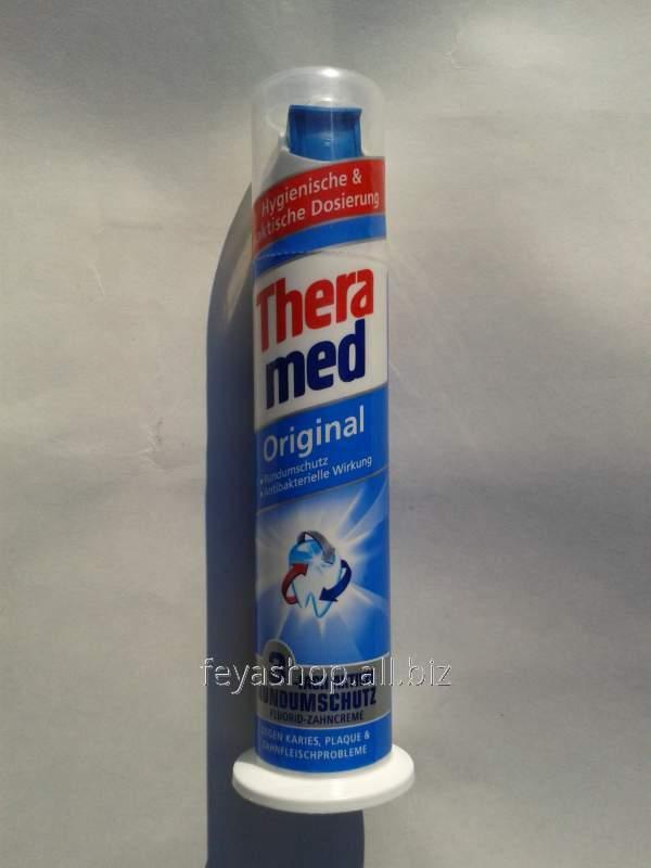 Немецкие зубные пасты Thera med Original
