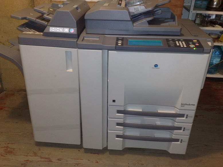 Copier Printer Konica Minolta Bizhub Pro 920 Scanner