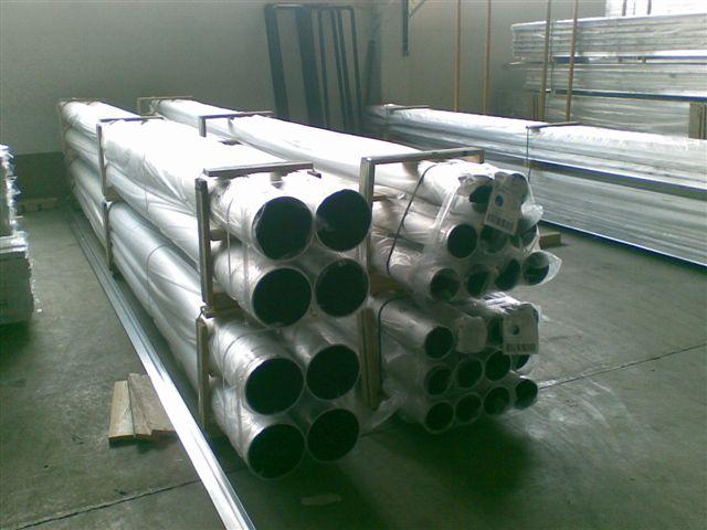 Трубы алюминиевые диаметром от 1.8 мм до 700 мм,