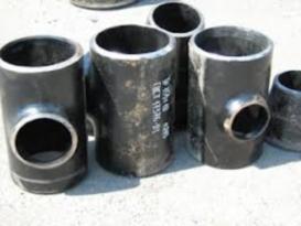 Тройники стальные переходные Ду15-600