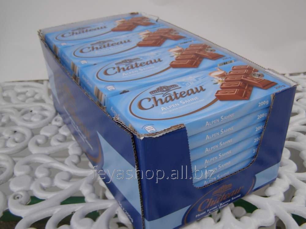 Немецкий шоколад Сhateau (Шато)