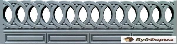 Купить Формы забора и оградок для производства ограждений из бетона