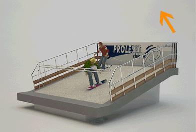 Гірськолижний тренажер PROLESKI PRO3D, Гірськолижні спуски для закритих приміщень Проліски, Гірськолижний атракціон PROLESKI, тренажер лижний, сноуборд тренажер,