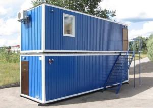 Купить Модульные здания металлические, Здания модульные, мобильные, бытовки, вагончики