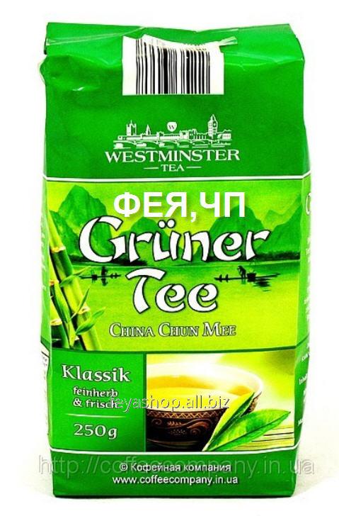 Чай Westminster зеленый листовой Klassik 250г