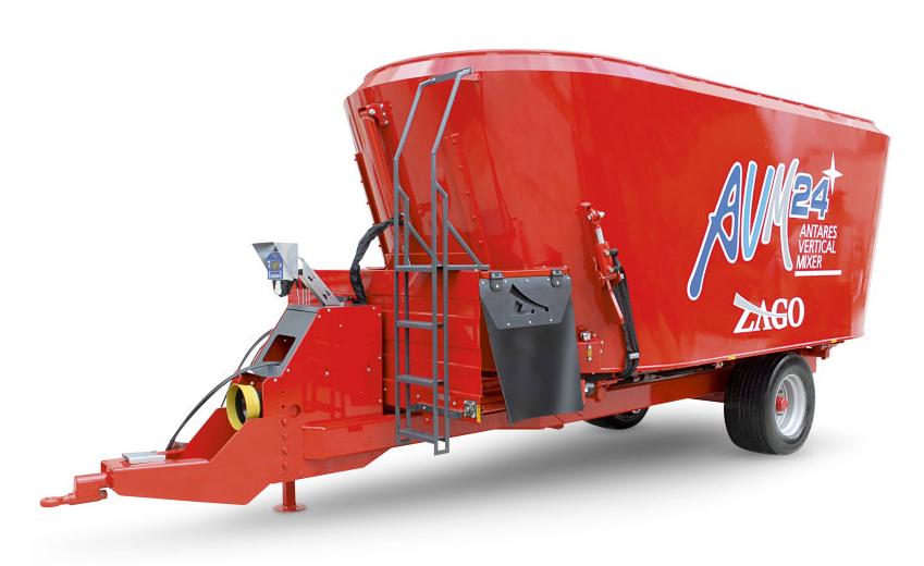 Купить Кормосмеситель вертикальный прицепной ZAGO AVM H, техника для заготовки кормов