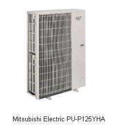 Купити Зовнішні блоки Mr. Slim Mitsubishi Electric PU-P125YHA без інвертора тільки охолодження