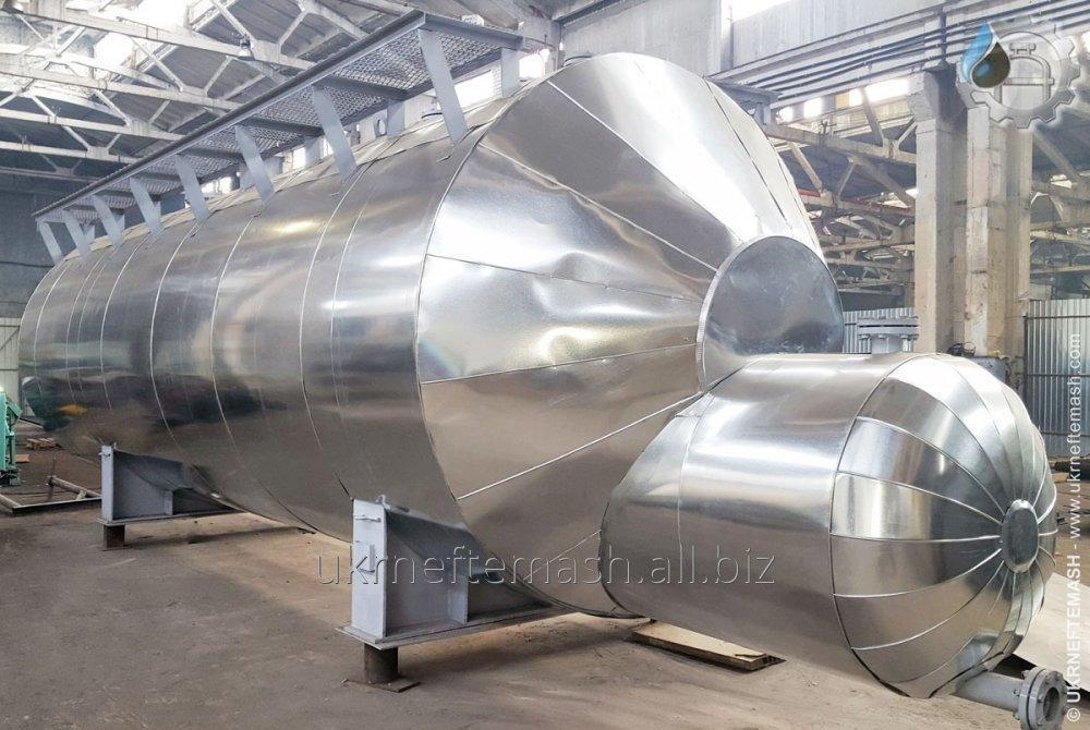 Испаритель с паровым пространством, диаметр кожуха до 1600 мм