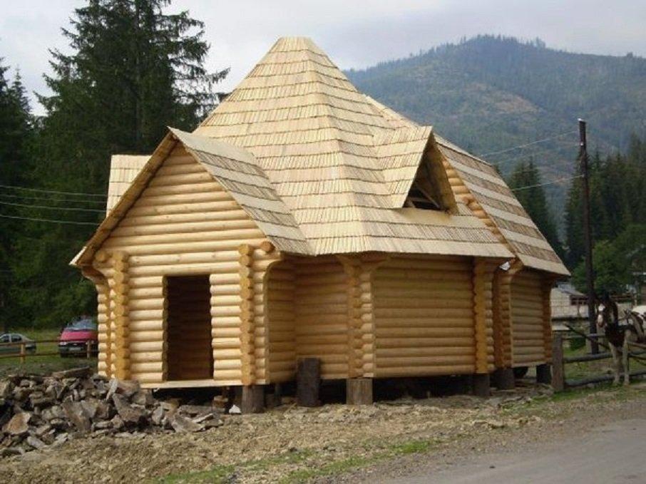 Деревяный дом купить на украине