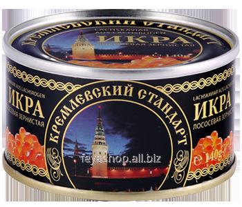 Икра лососевая горбуши Кремлёвский стандарт