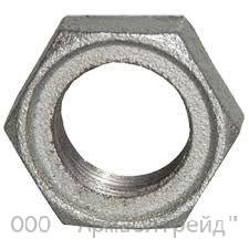 Контргайка стальная оцинкованная Ду 15-80