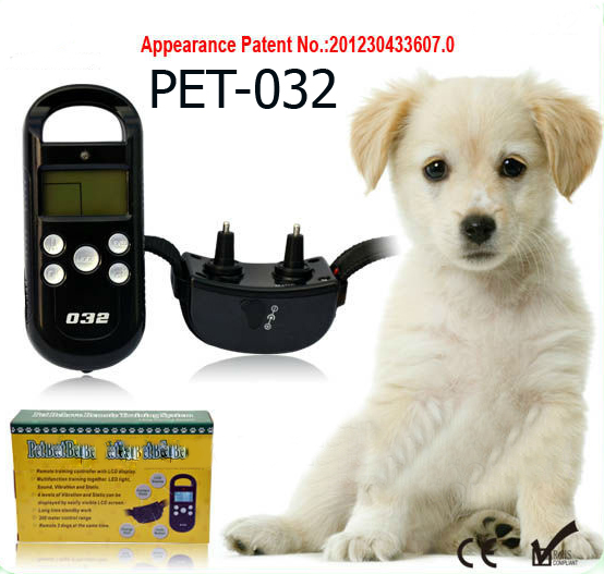 Buy Electronic accumulator waterproof collar with convenient management for dogs, an electro collar on the accumulator for dogs, a waterproof electrocollar