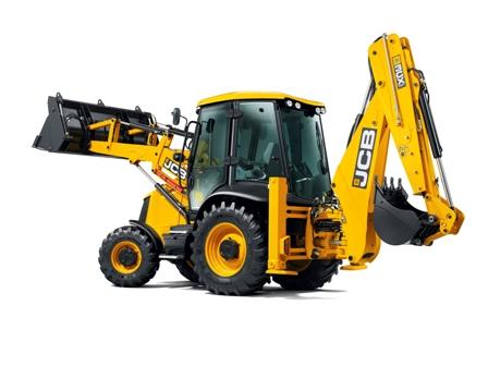 Rent of the JCB 3CX excavator loader