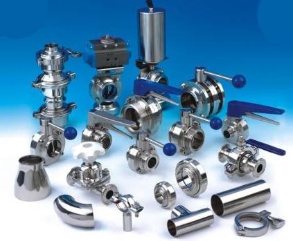 Запорно-регулирующая арматура из нержавеющей стали AISI 304 и AISI 316L