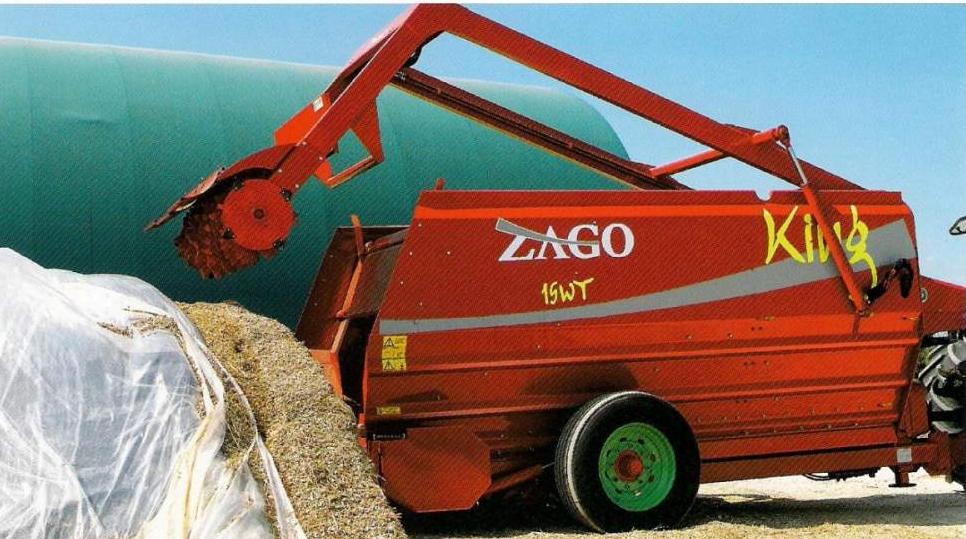 Купить Кормосмеситель горизонтальный ZAGO KING, оборудование для измельчения кормов, соломорезки