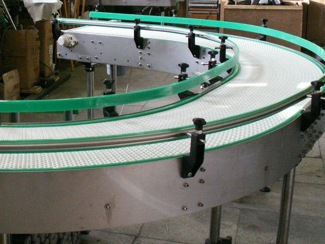 Buy The conveyor on modular tapes, the spiral conveyor