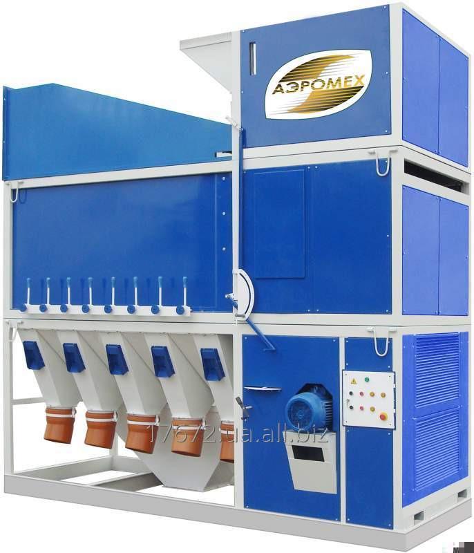 Оригинальный Зерновой сепаратор САД-150 (очистка зерна) завод АЭРОМЕХ