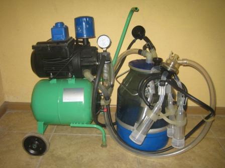 Гамак-Ротор (доильный аппарат для количества от 1 до 8 коров)