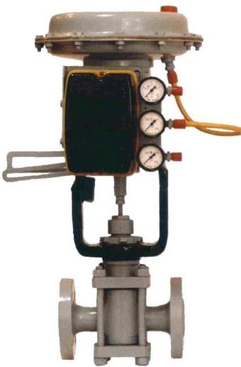Pneumatic one-saddle POU-7 actuation mechanism; POU-8; POU-11